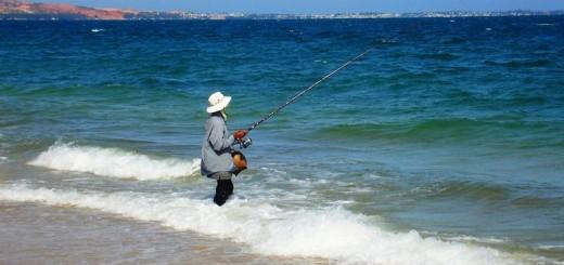 Horgászni sós vízben?